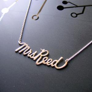 MrsReednamenecklace